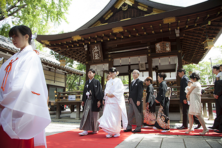 護王神社 結婚式